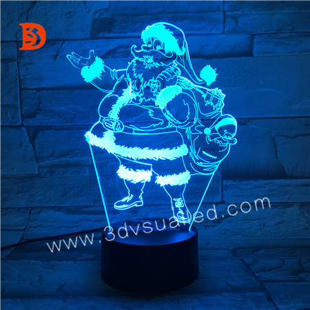 3D Illsuion Acrylic Night Light  KS 3D-227