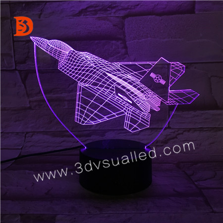 3D Illsuion Acrylic Night Light  KS 3D-214